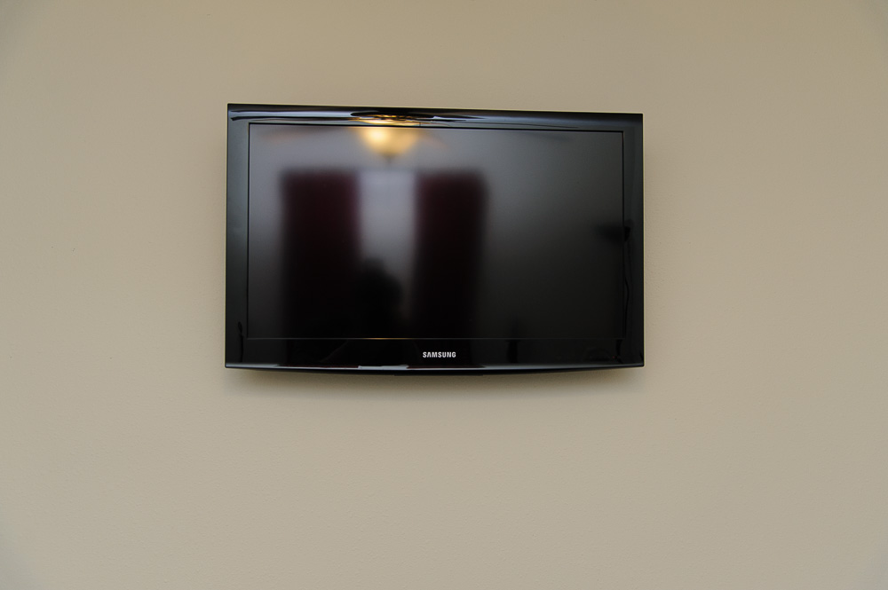 Wall Mounted Flat Screen TV